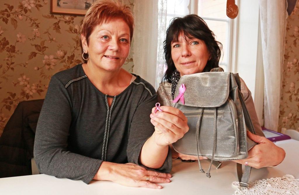 Representanter for Brystkreftforeningen Sandnessjøen og omegn reagerer på at kvinner på Helgeland mister mammografitilbudet i Sandnessjøen.