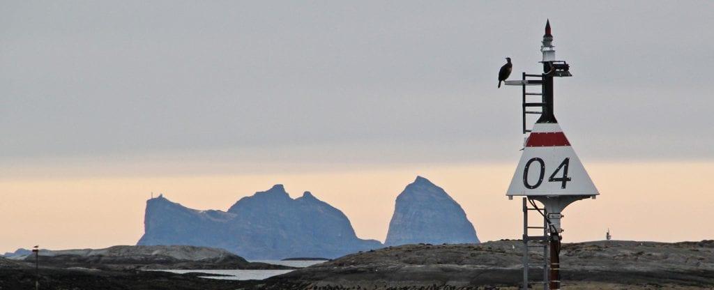 Sannafjellene er et landemerke i Trænafjellene. Kanskje kan de inspirere årets gjestekunstnere i kommunen.