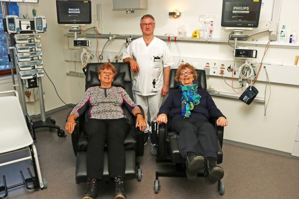 Støtteforeningen for sykehuset har gitt en ny gave til intensivavdelingen.
