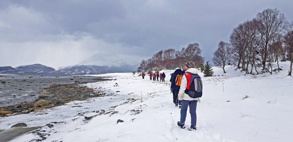 Et tjuetall turgåere ble med Turistforeningens seniorgruppe på onsdagens tur.