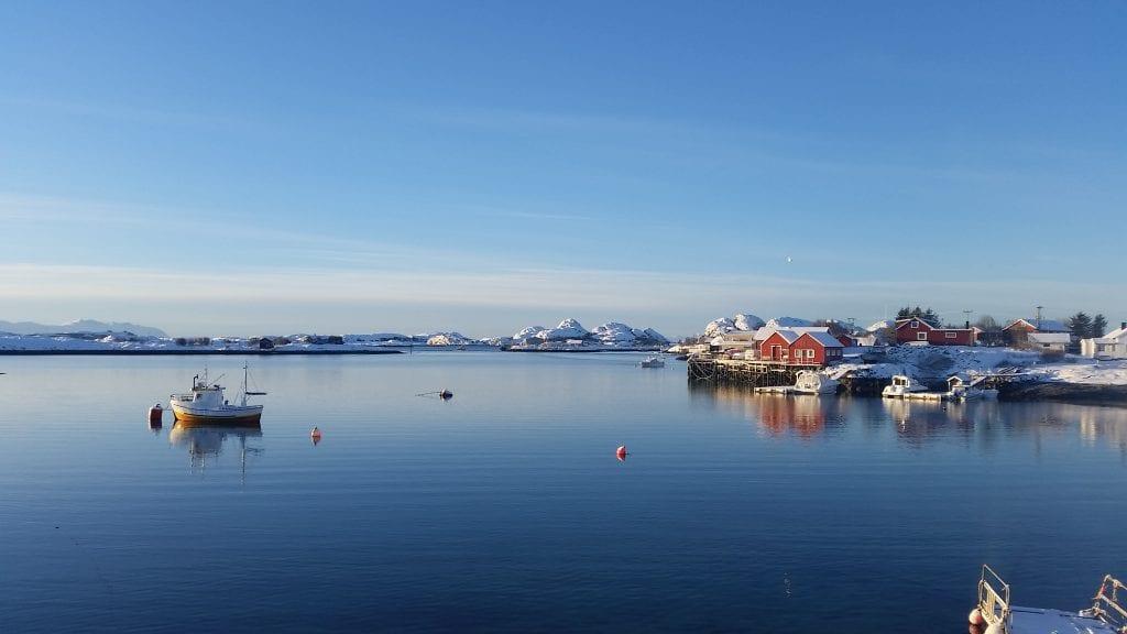 Blank stille på Seløy. Foto: Kirsti Karlsen