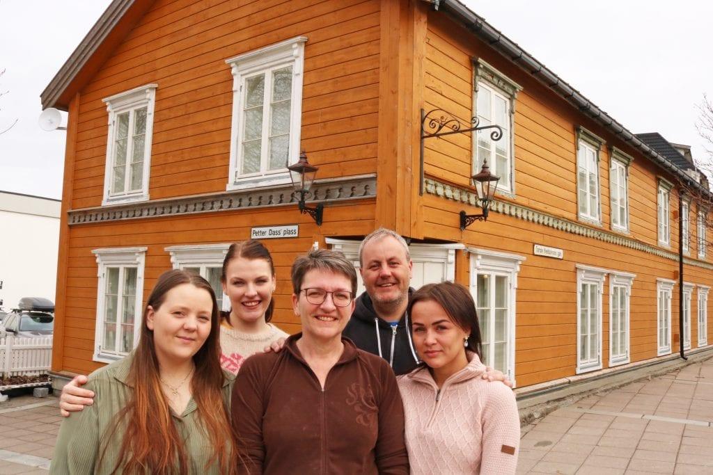 Ny kafé i Sandnessjøen.