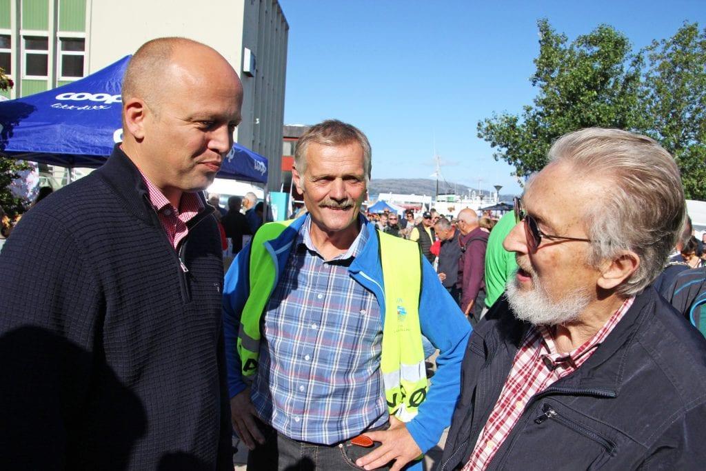 Senterparti-leder Trygve Slagsvold Vedum åpnet Horva 2019. Han oppfordret bønder til å være stolte av yrket.