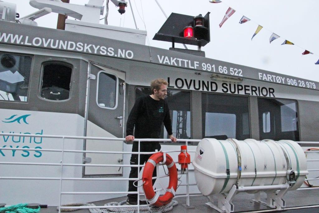 Lovund Skyss AS har hentet nok en båt nordover.