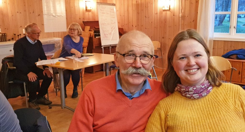 Norvald Ruderaas og Elisabeth Blix er valgt til første leder og første nestleder i Leirfjord og Alstahaug kirkelige fellesråd.