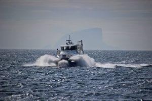Lovund Skyss AS skal drifte ei båtrute i Øksnes i fem år fra 1. februar 2020.