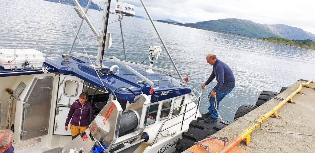 De er hjemmehørende i Drevvatn, men nå satser Gjermund Skogly og Vidar Sommerset på å bli fiskere.