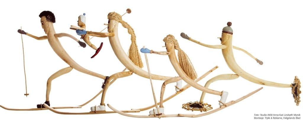 """""""Skifamiliien Nøfyse"""" er en hyllest til forfatteren, tegneren og illustratøren Kjell Aukrust."""