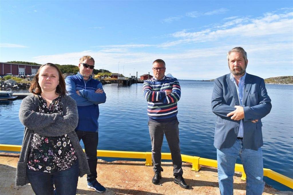 """""""Distriktsfiendtlig"""", mener lurøypolitikere om fylkeskommunens ruteløsninger."""
