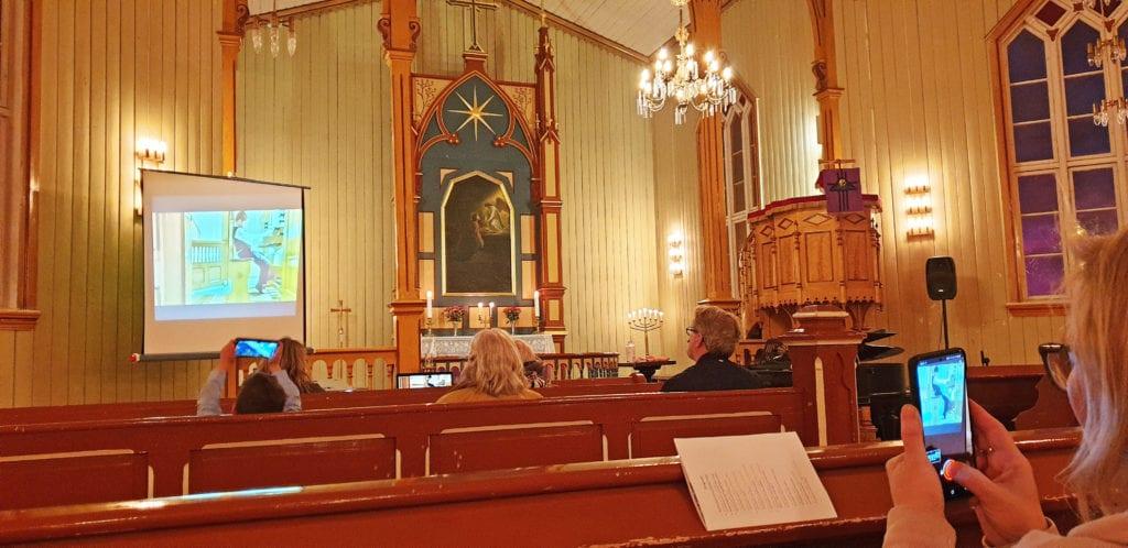 Unge organister holdt konsert i Sandnessjøen kirke.