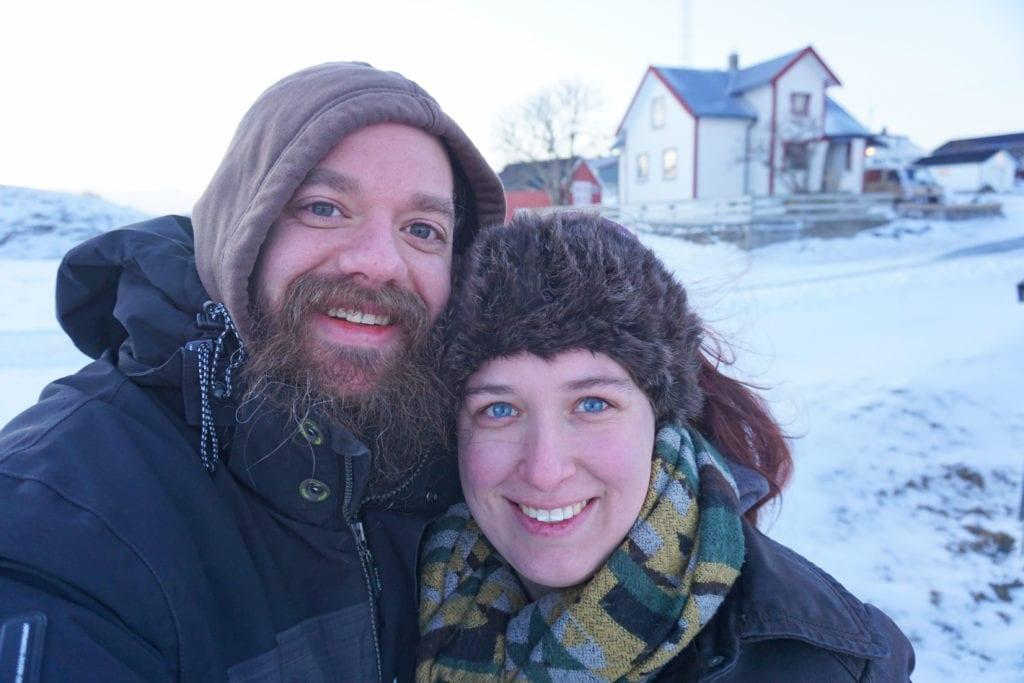 Innbyggerne i Selvær gleder seg over at fire nederlendere har kommet til øya for å prøvebo et år.