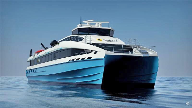 Fylkeskommune og leverandør er i dialog om en løsning etter at det viste seg at den nye hurtigbåten i trænaruta bruker for mye drivstoff.