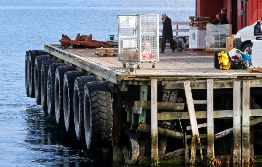 Træna kommune kjøper deler av dagens ekspedisjonskai på Husøy.
