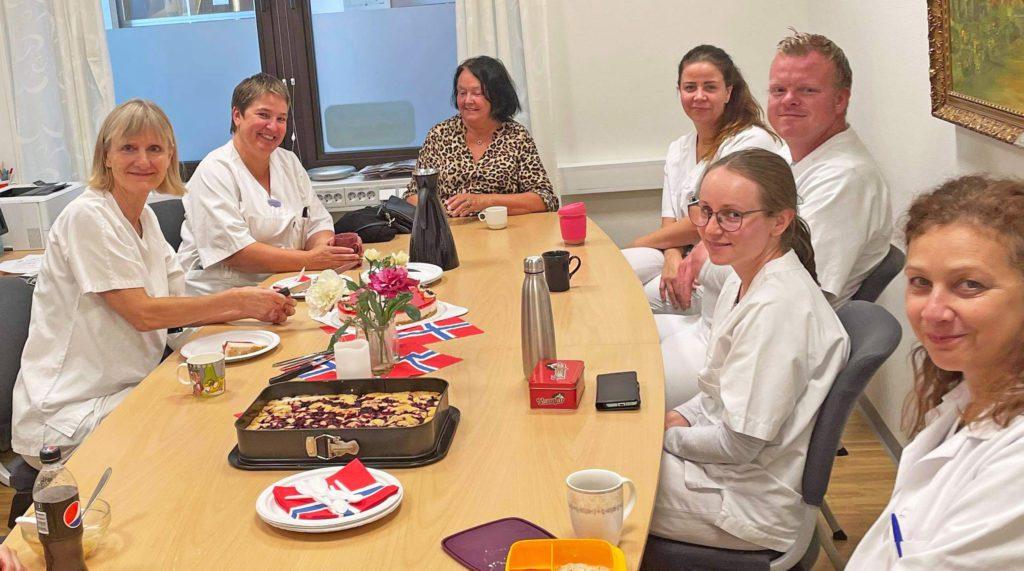 Øre-nese-hals-lege Inger-Lise Haakstad har vært ansatt på sykehuset i Sandnessjøen i 20 år.